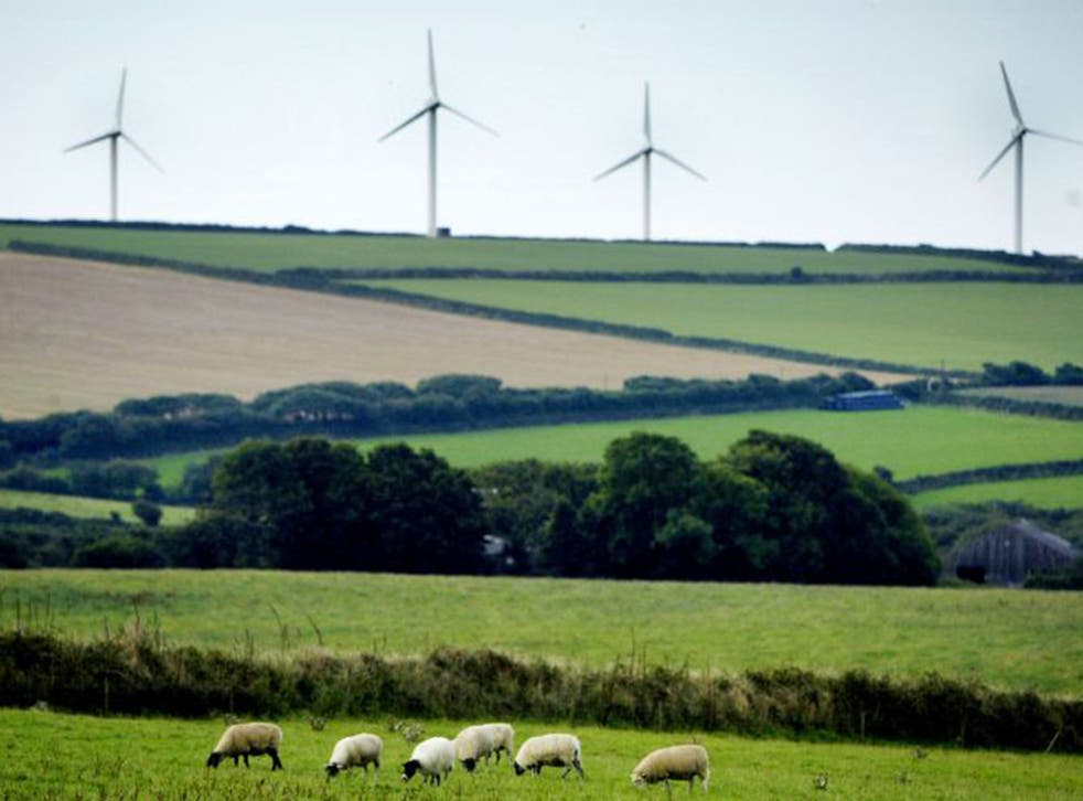 Windfarms helped bring in £46 billion for low-carbon and renewable energy firms