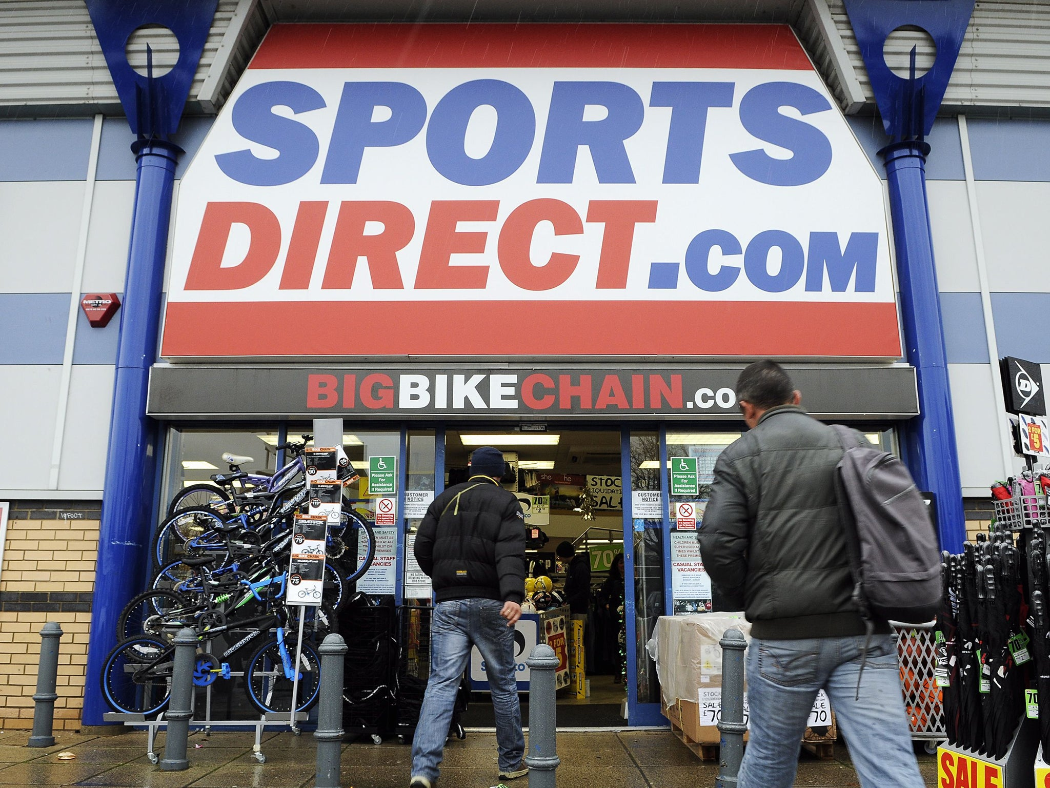 sports direct cuts staff bonus after profits fall 15 the independent. Black Bedroom Furniture Sets. Home Design Ideas
