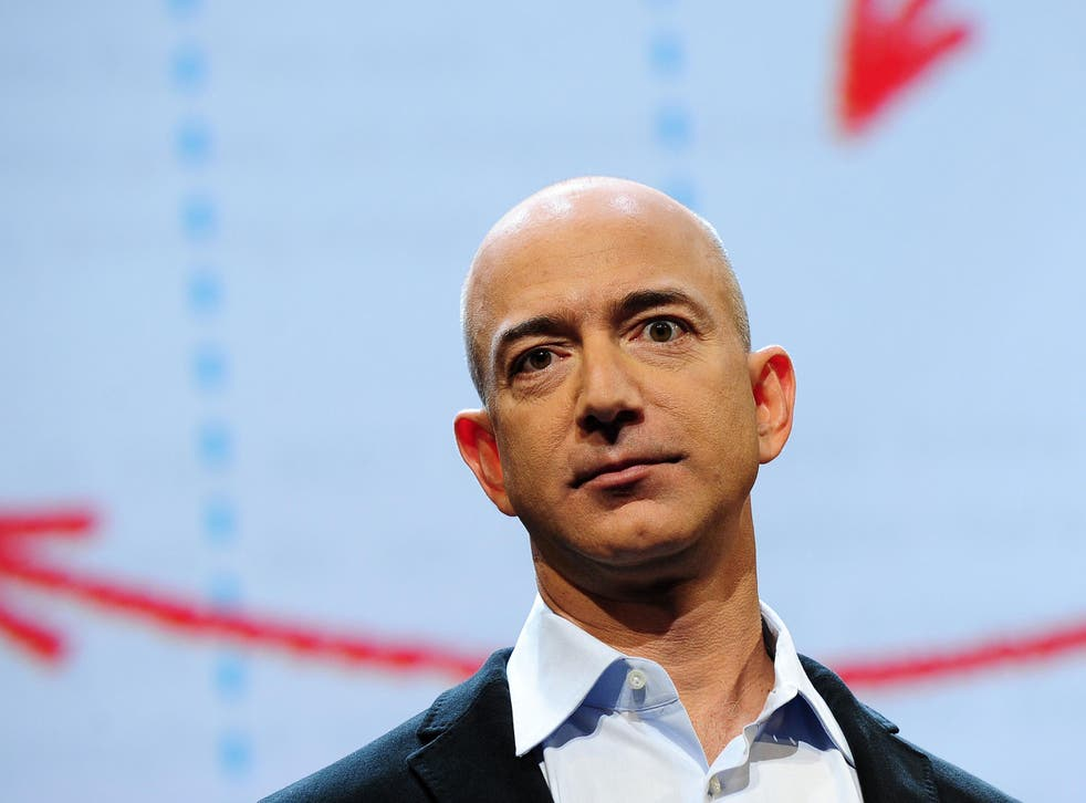 Jeff Bezos, Amazon chief executive