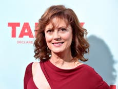 Susan Sarandon says her sexuality is 'up for grabs' for
