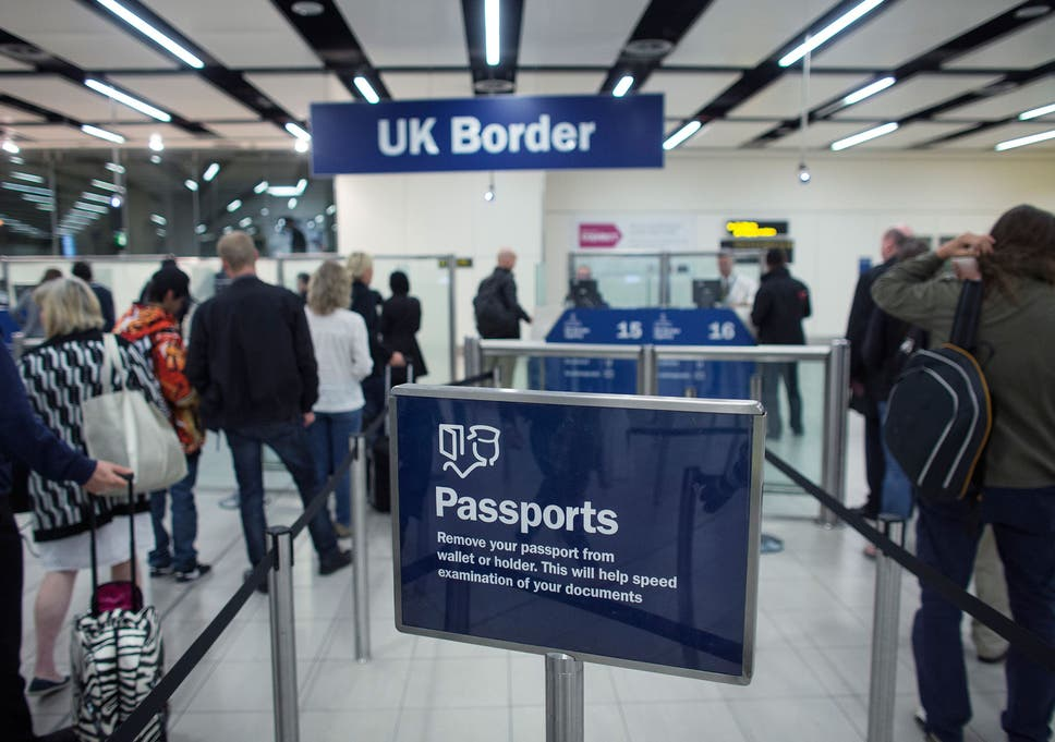 UK immigration latest: EU net migration falls over past year