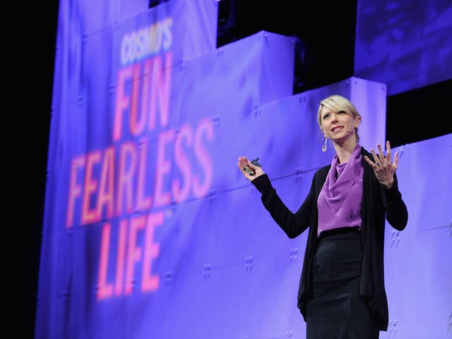 In Amy Cuddy's new book she says people answer two questions when they first meet you