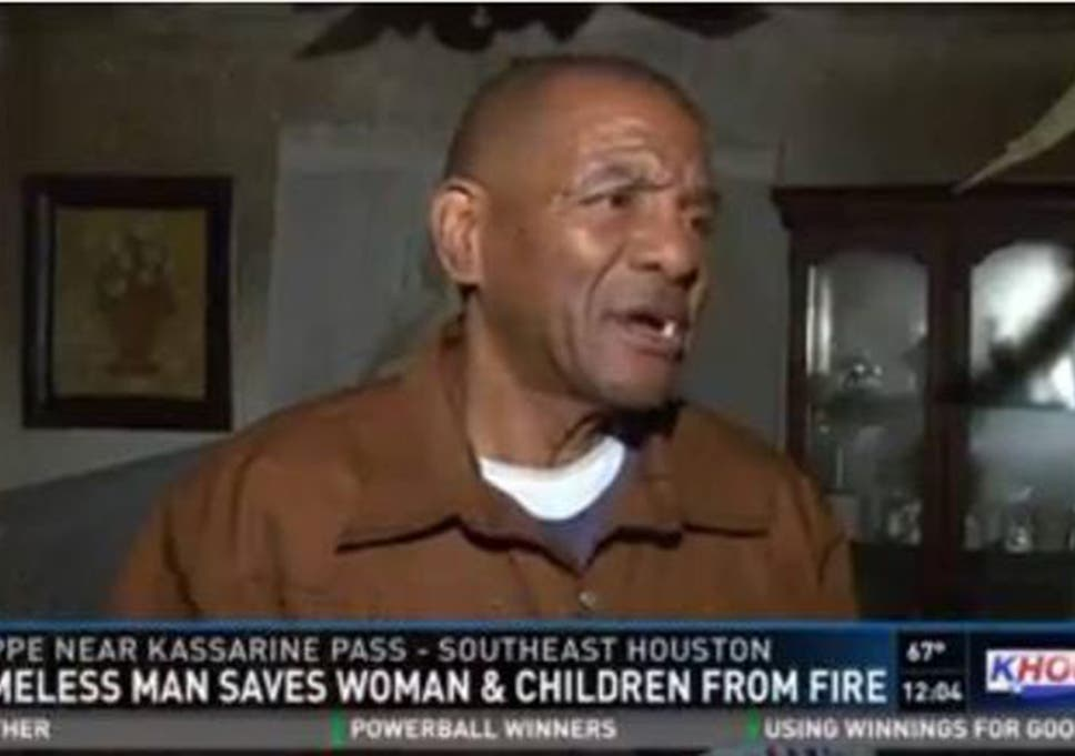 Thomas Smith is credited with saving three lives during a fire at a home in Houston