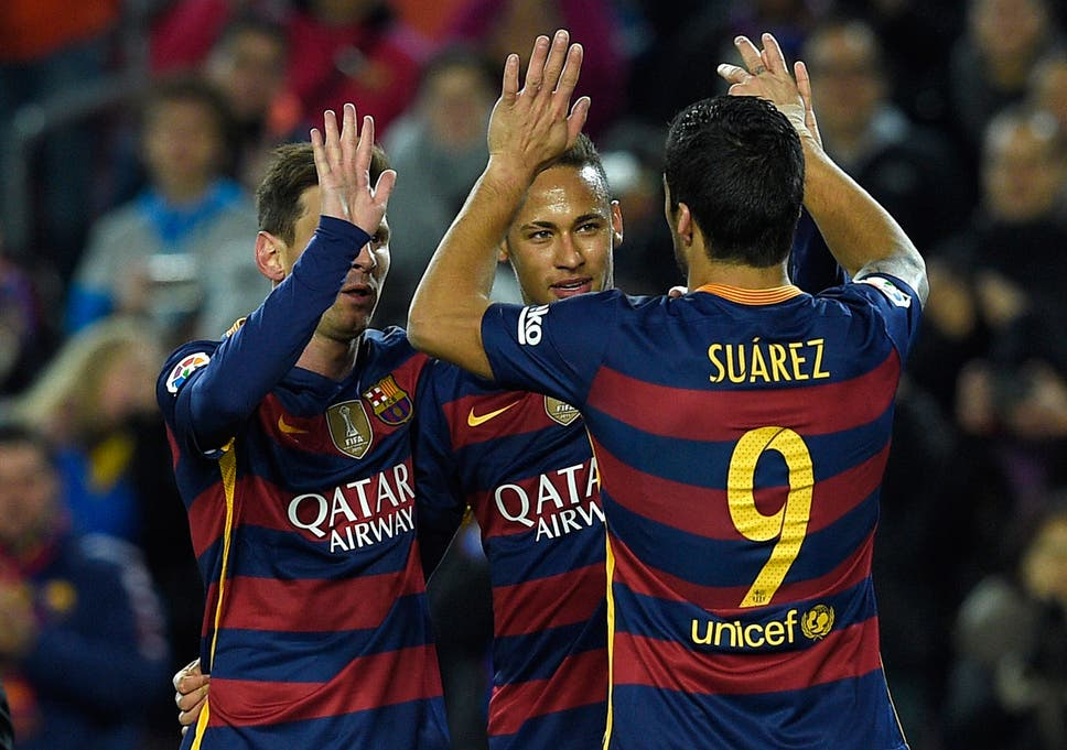 d2c8046d24c Real Madrid's 'BBC' and Barcelona's 'MSN' all score on same day for ...