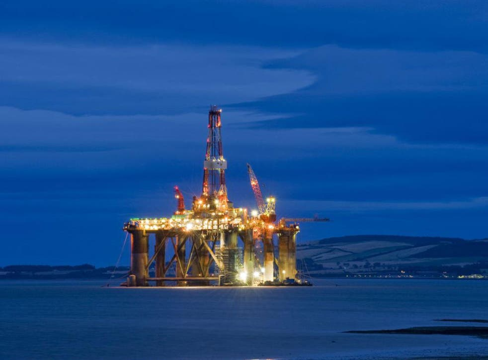 65,000 jobs have been lost in the last 18 months in Britain's North Sea oil industry