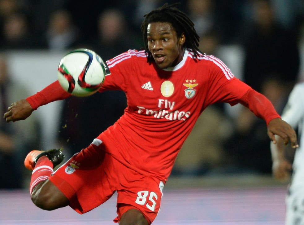 Renato Sanches in action for Benfica