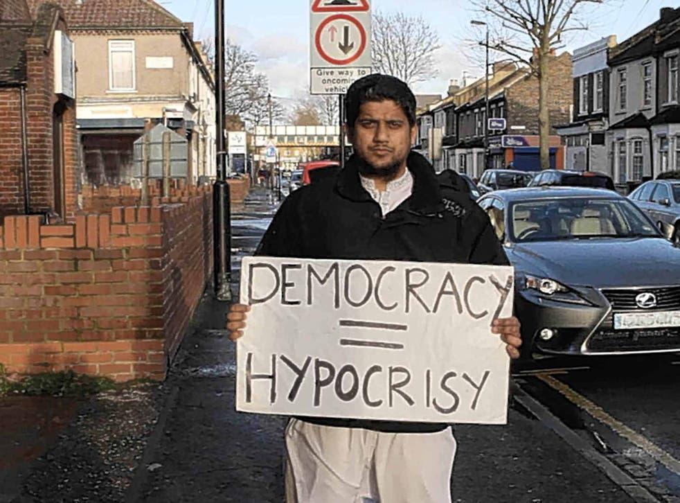 Warning sign: Siddhartha Dhar featured in 'The Jihadis Next Door'
