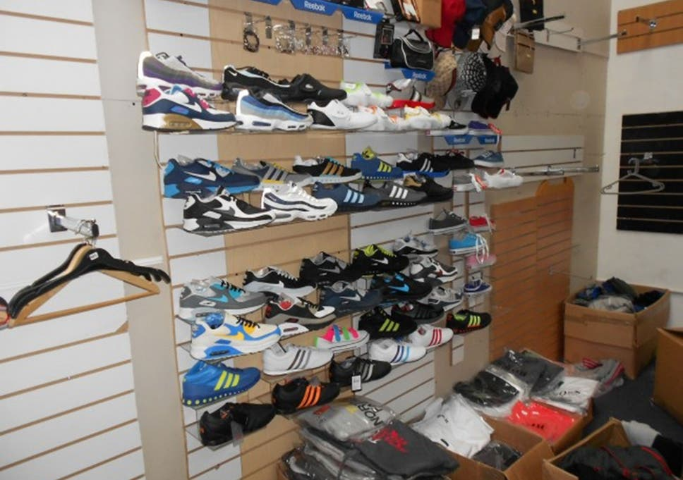 b49fec31a Goods seized by Greater Manchester Police in Cheetham Hill
