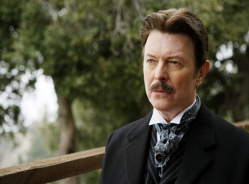 David Bowie as Nikola Tesla in 2006 film The Prestige