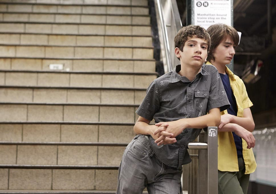 f8327521217 Michael Barbieri and Theo Taplitz in Little Men, a film that looks at the  raw