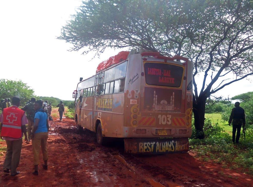 A previous attack on a bus near Mandera saw al-Shabaab militants kill 28 passengers in November 2014