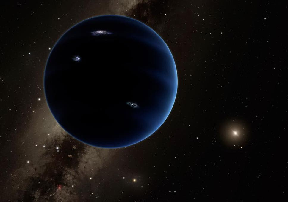 This Artistic Rendering Shows The Distant View From Planet Nine Back Towards Sun