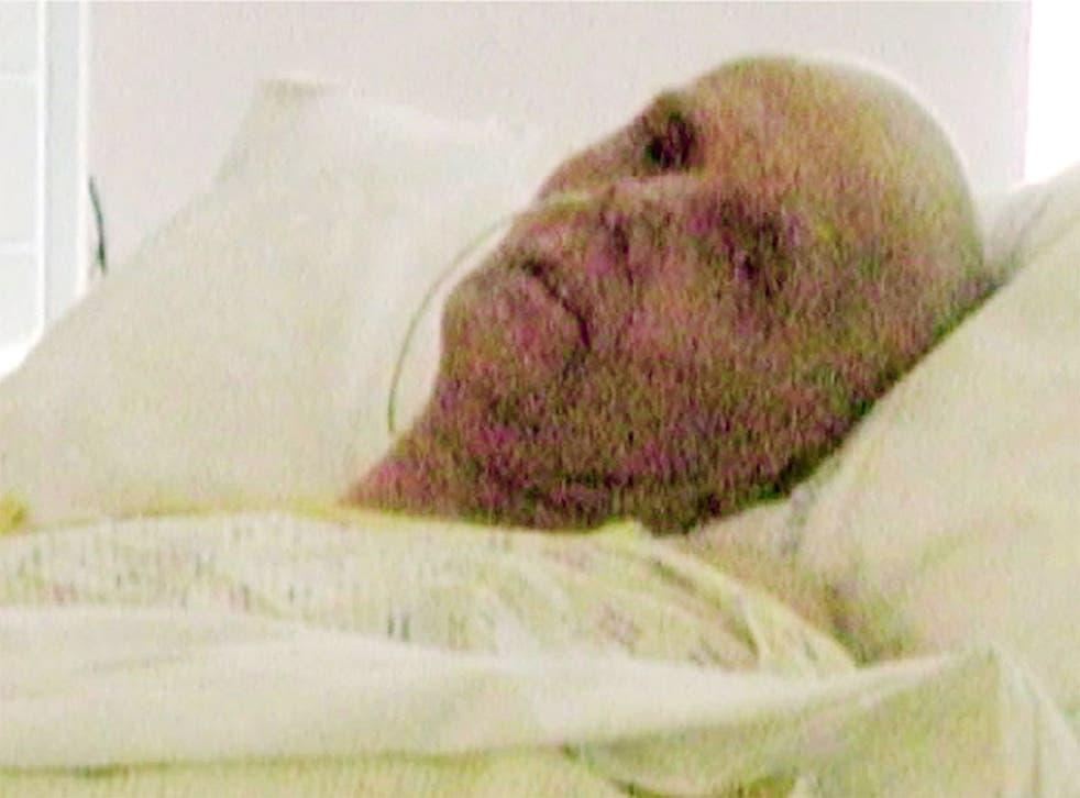 The last photo taken of Alexander Litvinenko alive