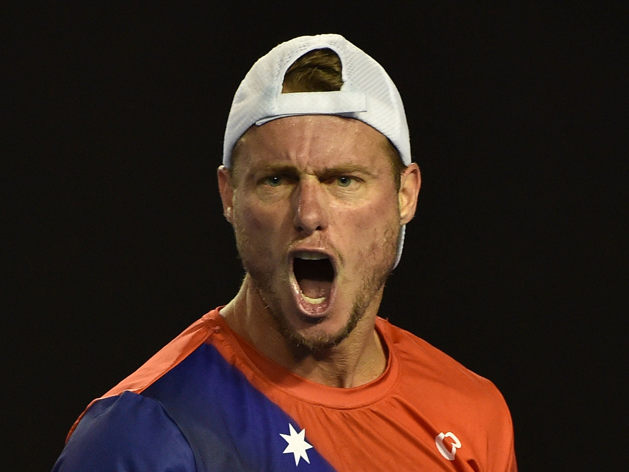 Lleyton Hewitt calls umpire a freaking idiot and line judge a