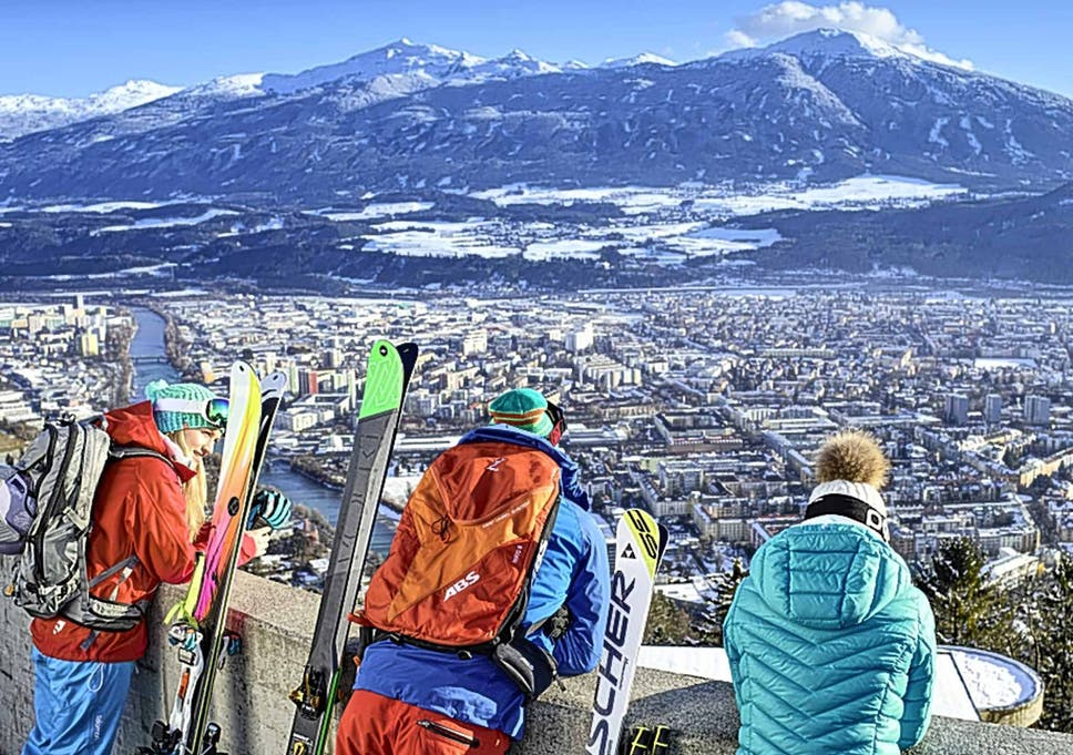 why innsbruck is the perfect ski city the independent