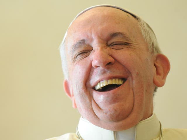 Fatherly advice: Pope Francis recognises that all humans are flawed