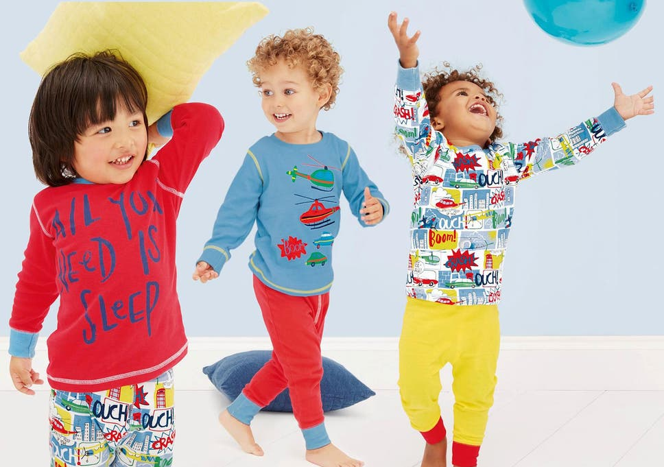Keep youngsters well-dressed at night with a cosy bedtime set a753b9d03