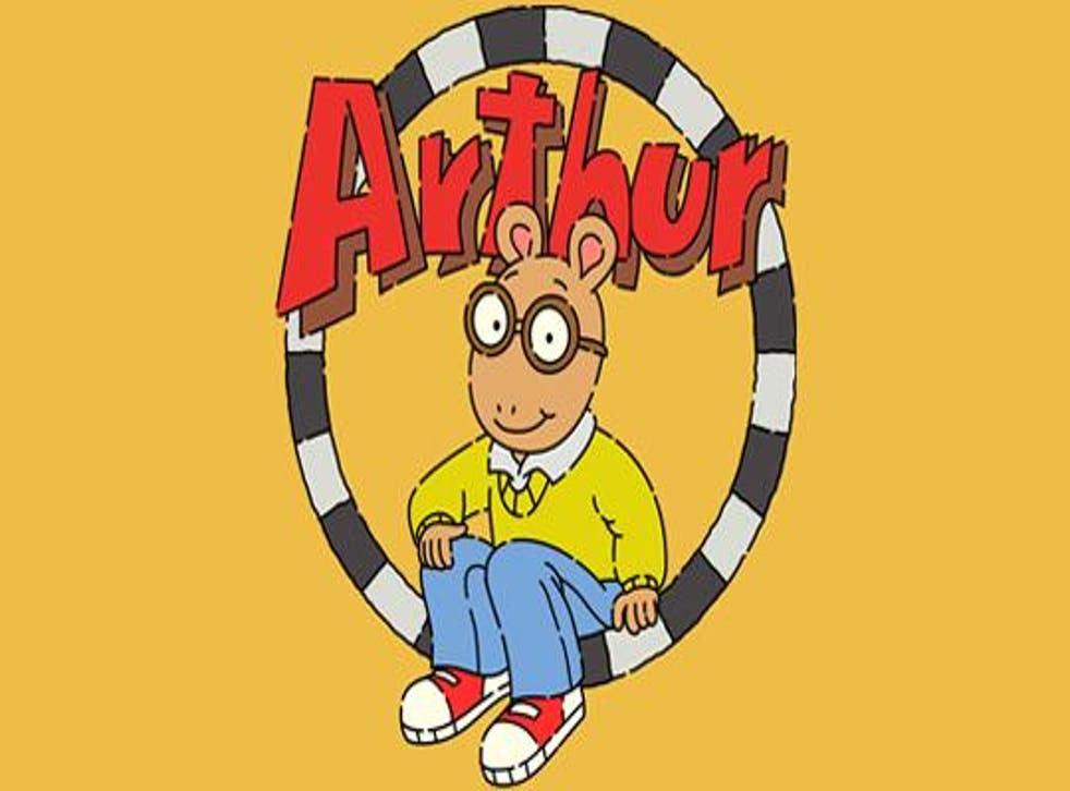 The Arthur viral trend began with a simple screengrab of him clenching his first but exploded last week