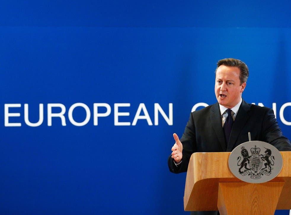 David Cameron faces crunch talks today