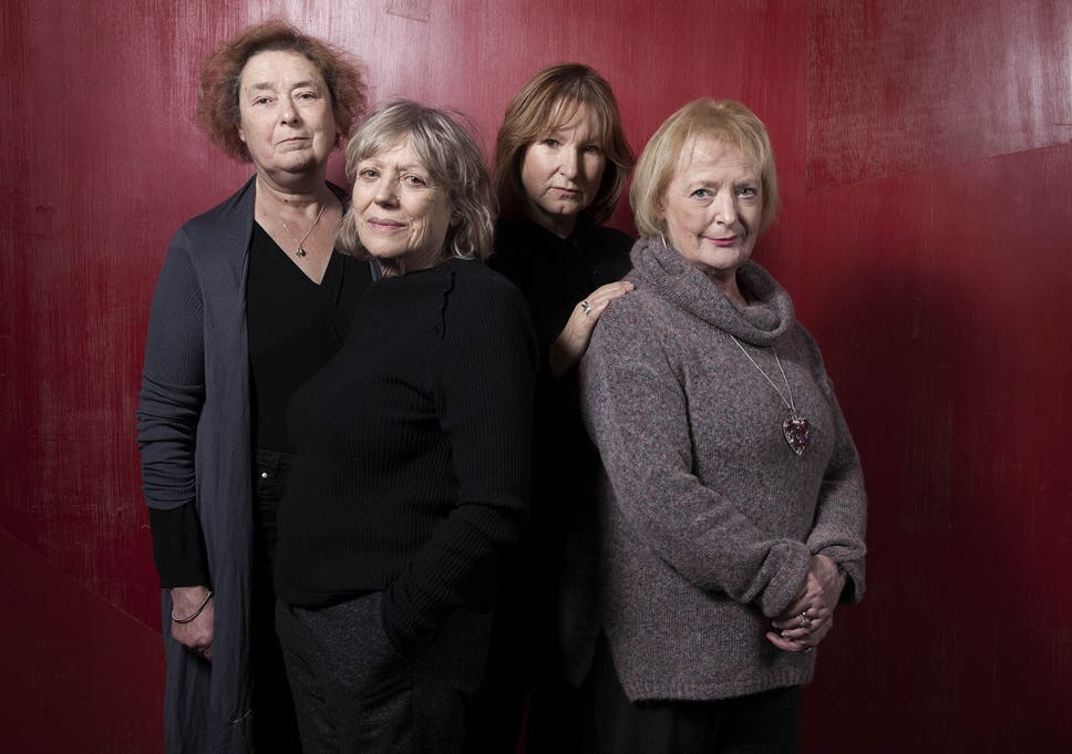 Stars of caryl churchills new play escaped alone who are sworn to linda bassett kika markham deborah findlay and june watson whoe are appearing in fandeluxe Gallery