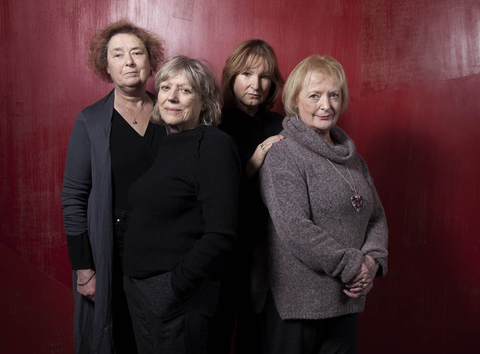 Linda Bassett, Kika Markham, Deborah Findlay and June Watson, whoe are appearing in Escaped Alone