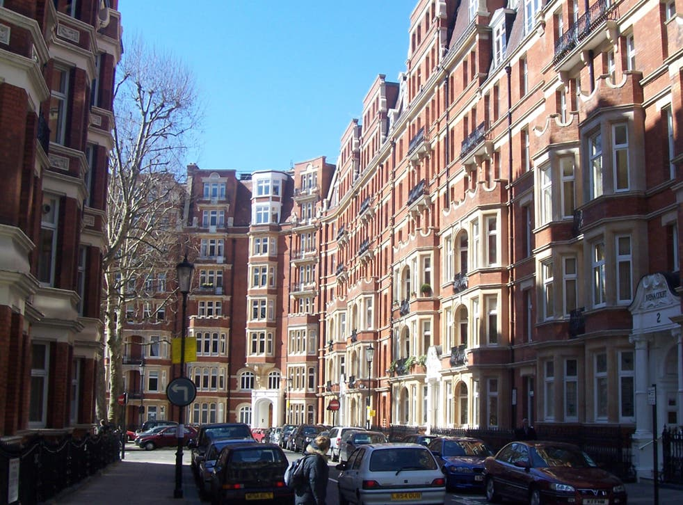 The areas with leases costing £5,000 per week or above include prime areas such as South Kensington, Knightsbridge, Mayfair, Regent's Park and Holland Park