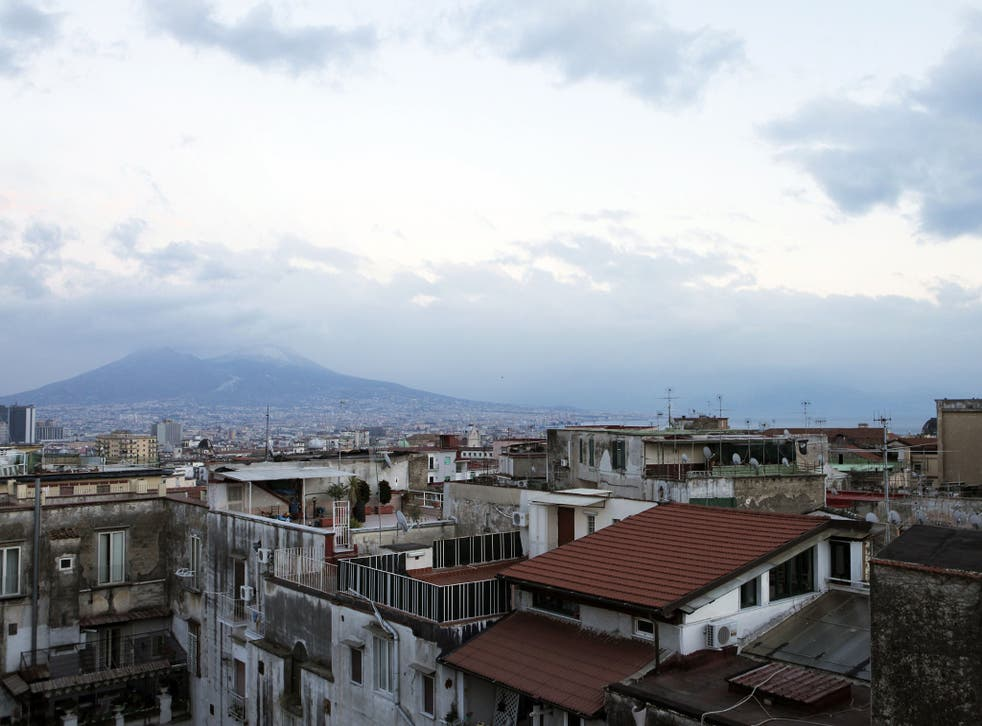 Towns around Vesuvius are being warned of potential catastrophe