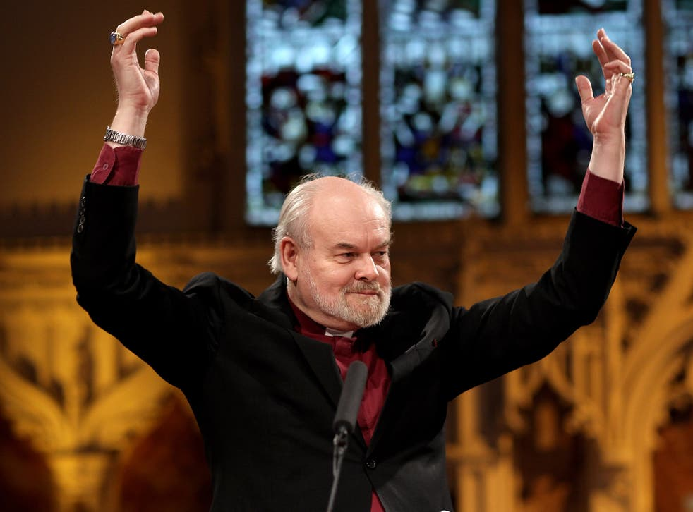 The Bishop of London, the Rt Rev Richard Chartres said beards were a new way for vicars to engage with the majority culture of their parishes