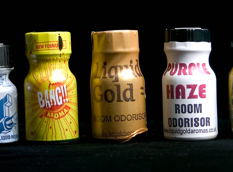 There have been calls to ban poppers in the United Kingdom