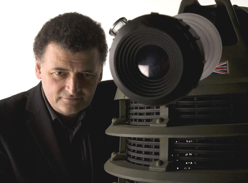 Steven Moffat says his 'timey-wimey is running out' on Doctor Who