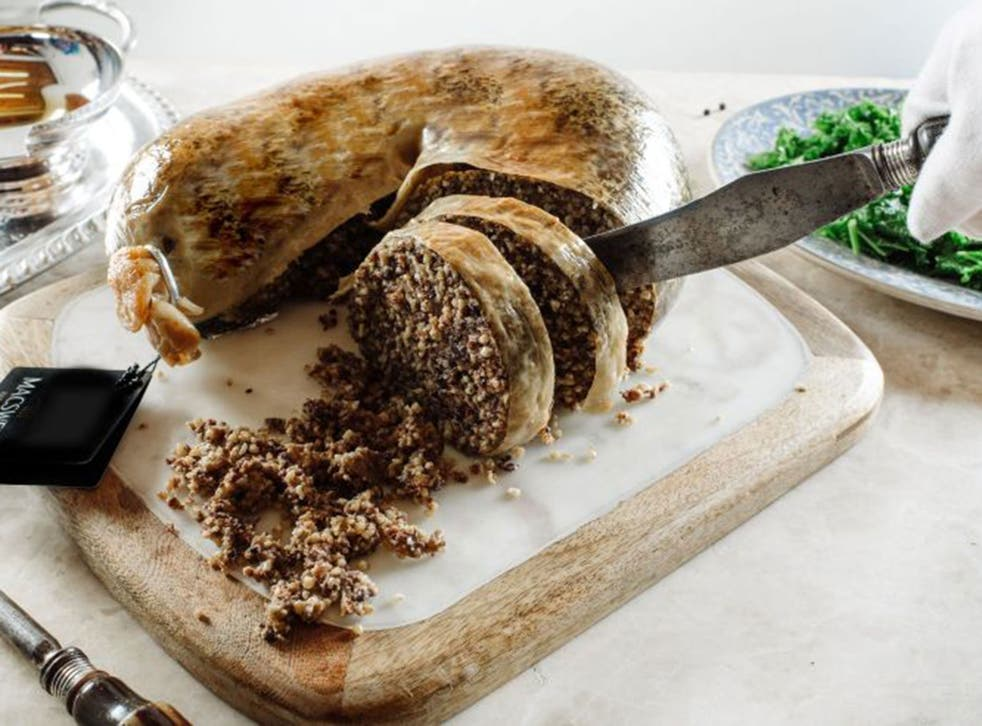 Haggis is commonly served at Burns Night dinners