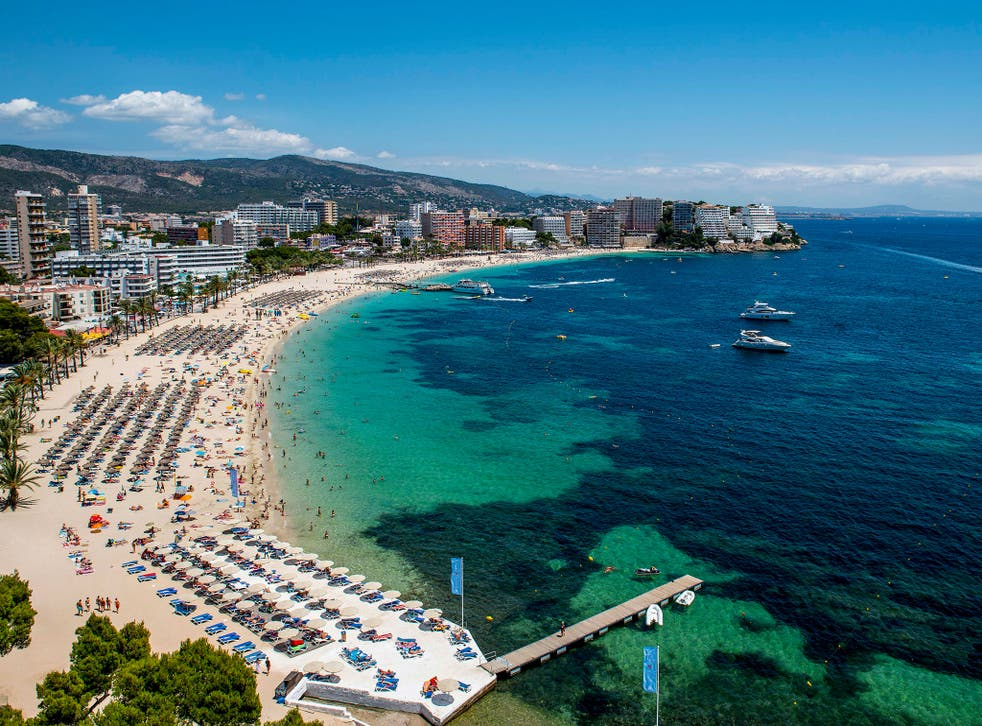 File image: The island of Mallorca is popular with British expats
