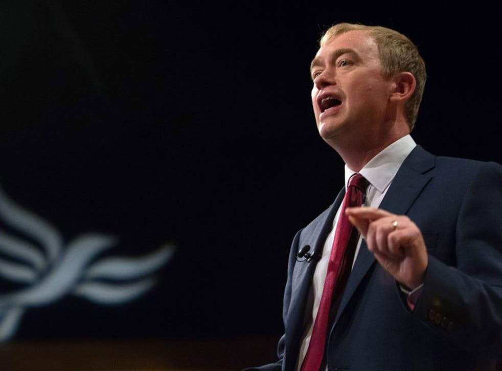 Tim Farron hopes to 'reshape British politics'