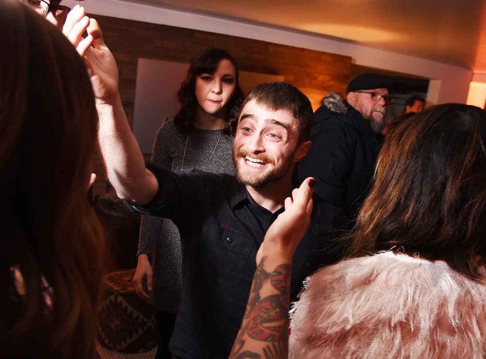 Daniel Radcliffe at the 'Swiss Army Man' film premiere after party, Sundance Film Festival in Utah