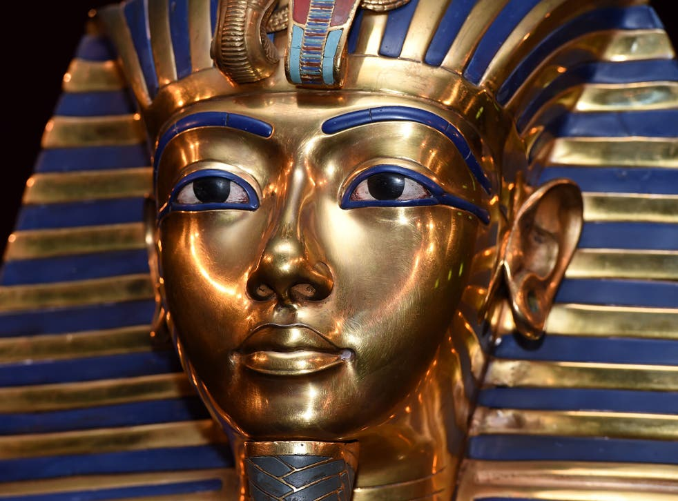 The burial mask of Egyptian Pharaoh Tutankhamun is one of Egypt's biggest tourist attractions