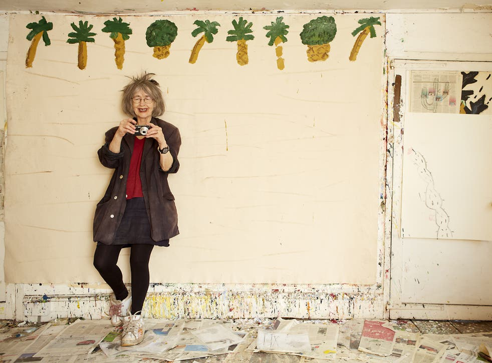 Rose Wylie is now heralded in America and by the likes of Germaine Greer