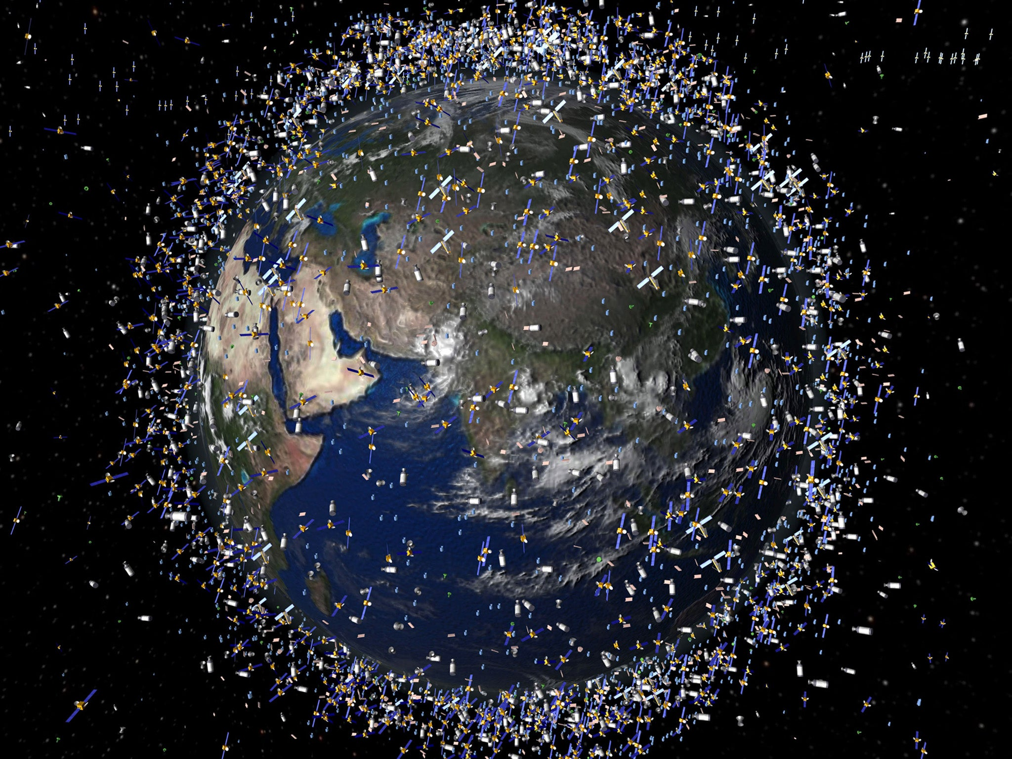 Debris from satellite blown up by India still flying around Earth six weeks after 'it should have decayed'