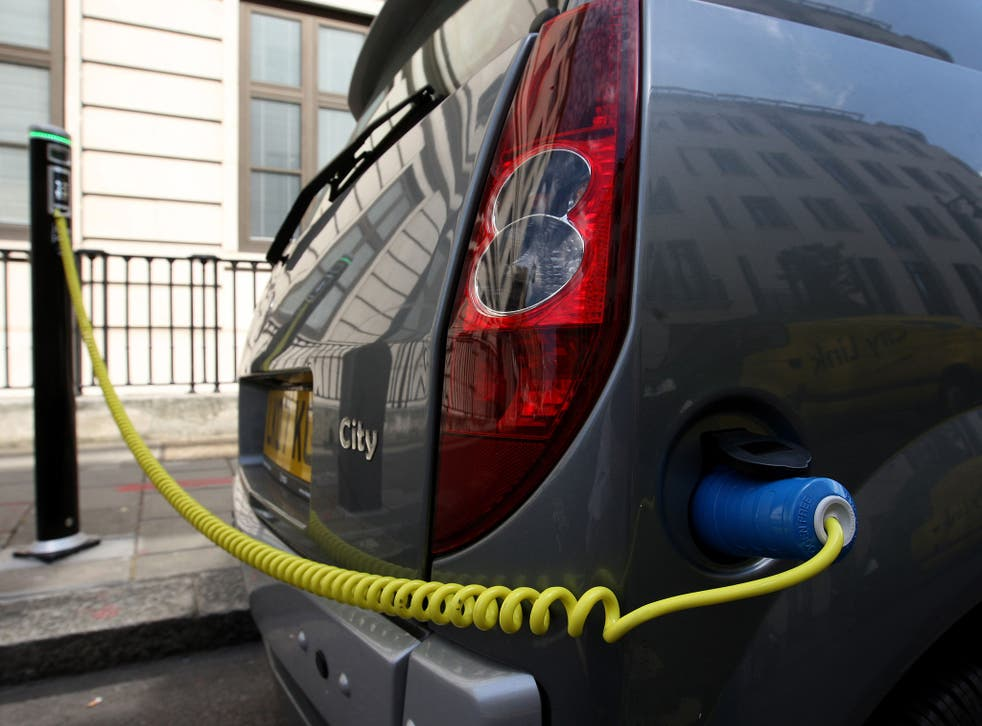 The Government wants the recharging of electric vehicles to become common