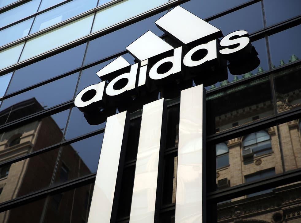 An Adidas store in Manhattan, New York City