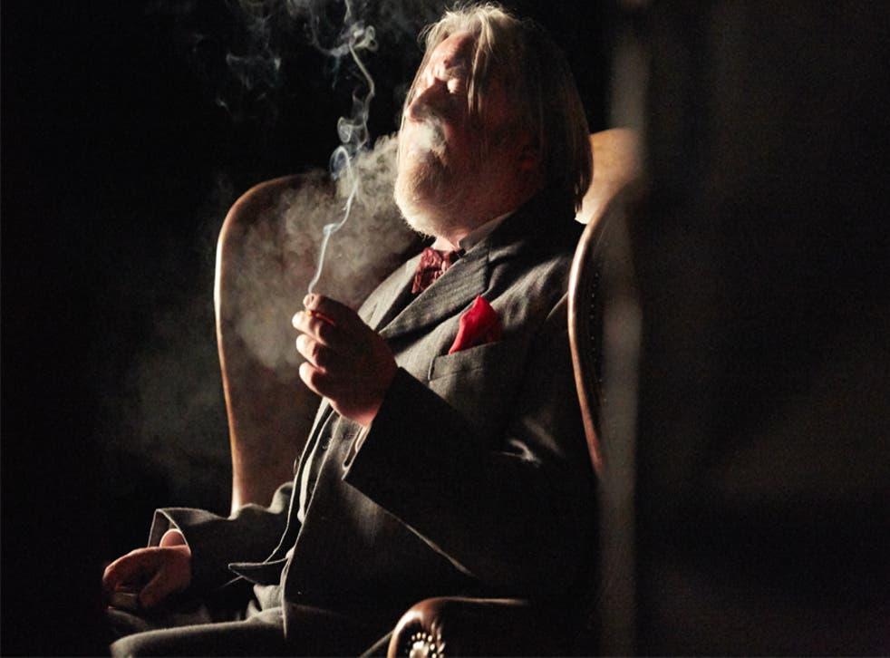 Ray Winston stars as HG Wells