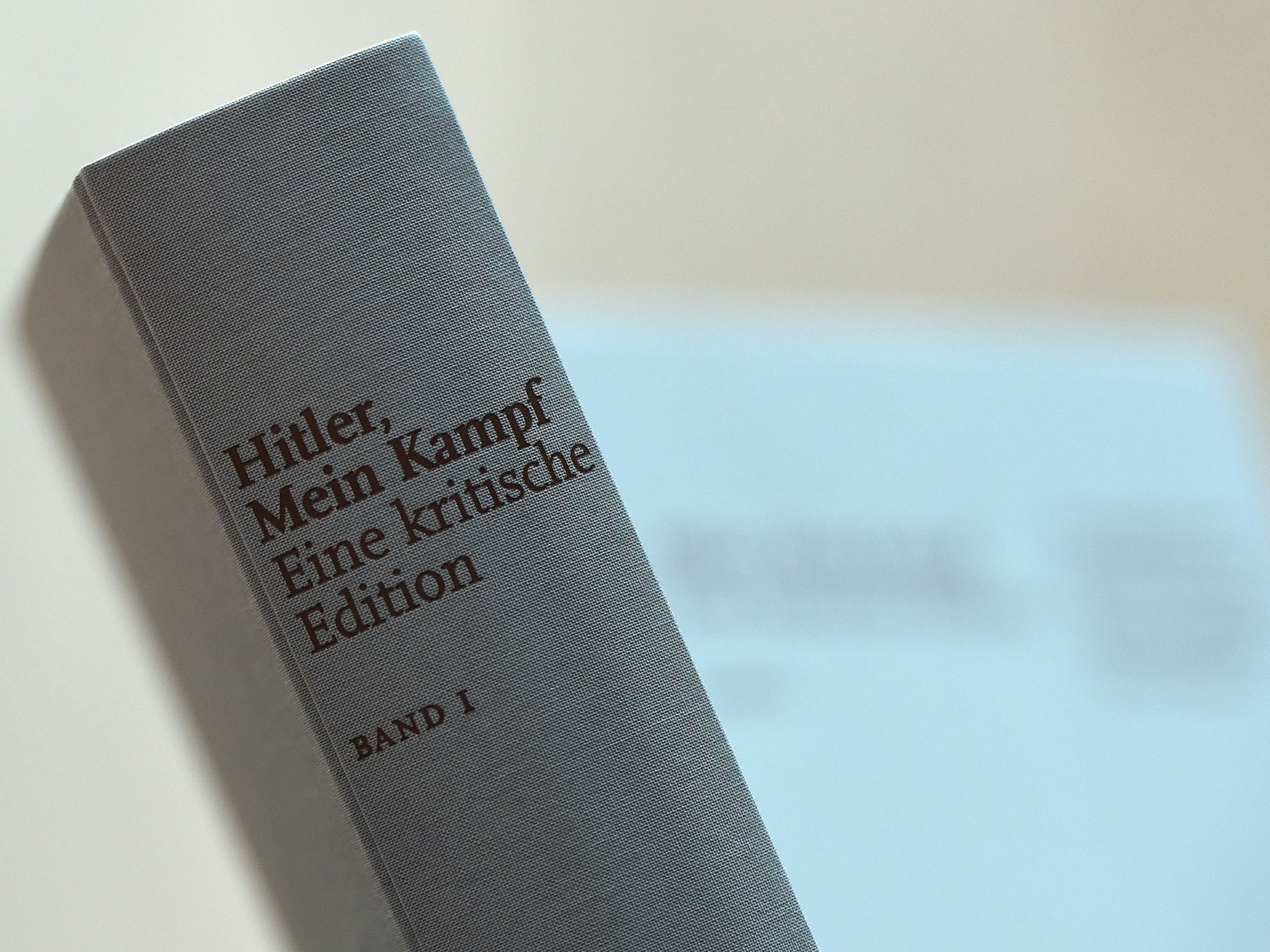 After 70 years of ban, Germany prints Mine Kampf. She must