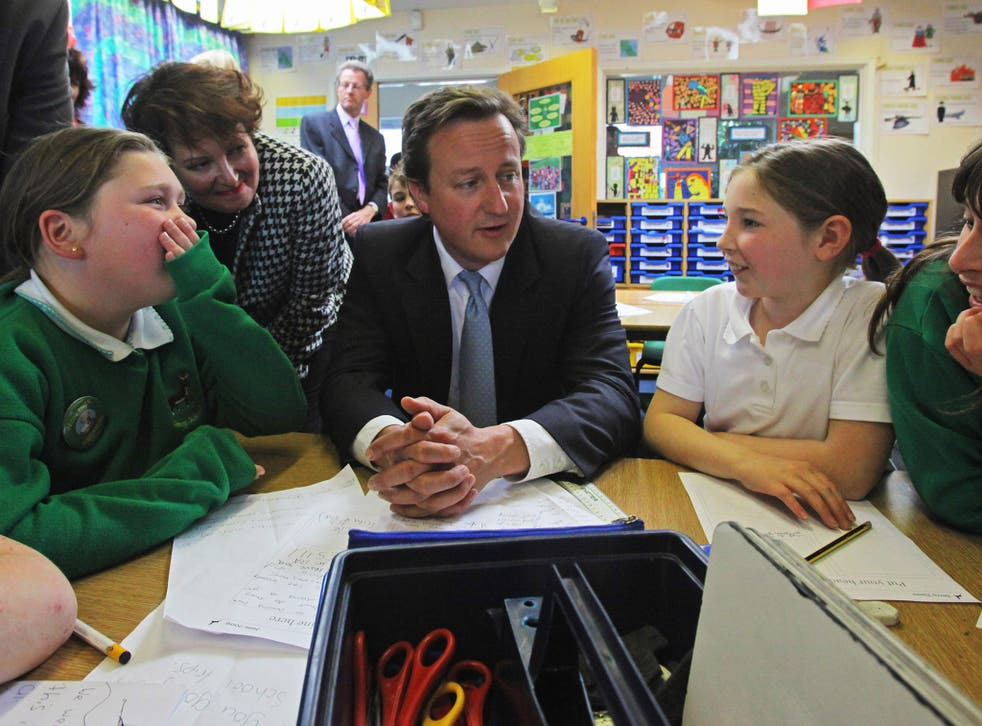 David Cameron's government wanted to abolish the requirement to measure child poverty in relation to household income
