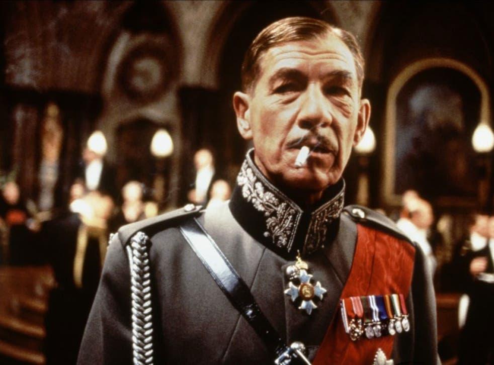 Sir Ian McKellen as Richard III in the 1995 film directed by Richard Loncraine