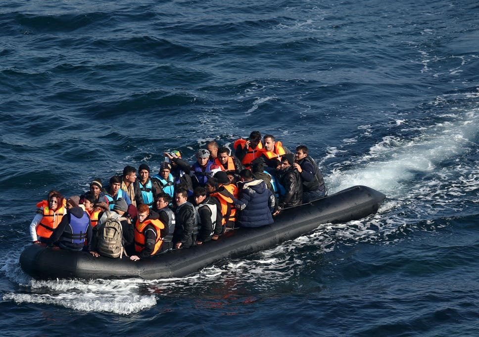 Rescuers unable to help 31 refugees who drowned due to laws