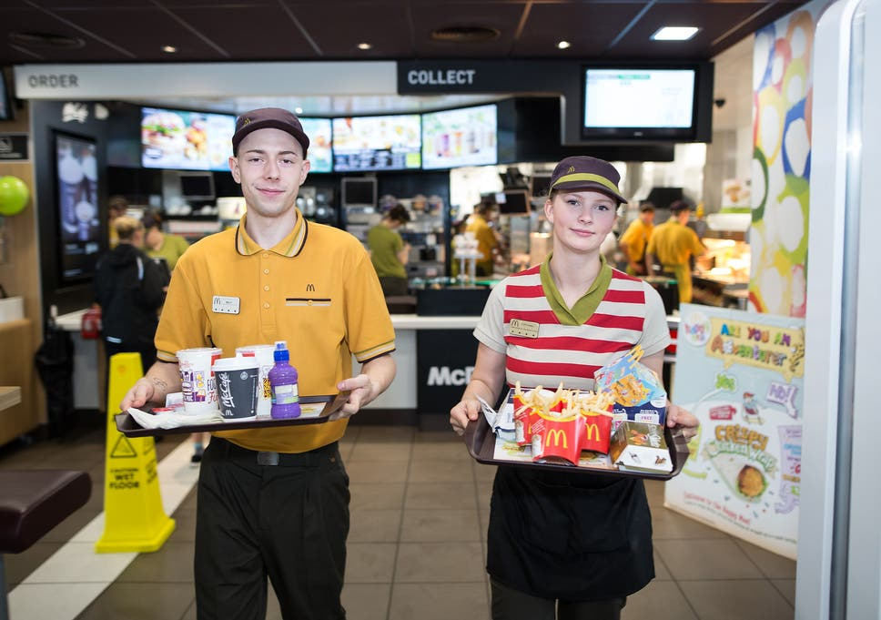 McDonalds To Introduce Table Service Across UK Restaurants - Table service restaurants