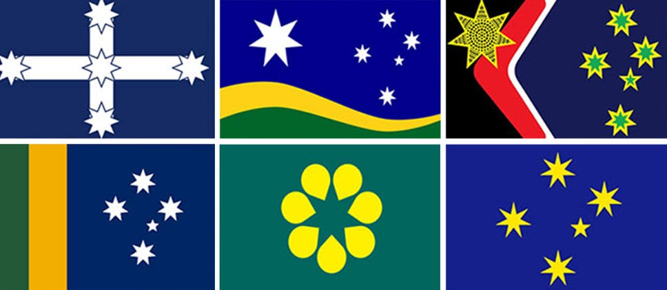 australia day thousands of australians support national flag change