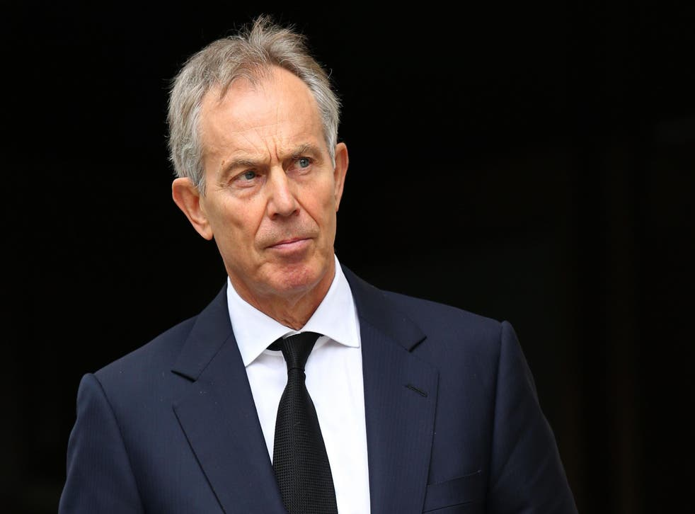 Tony Blair was speaking to a French radio station