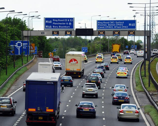 The accident that killed Aleeza Hussain took place near the M60