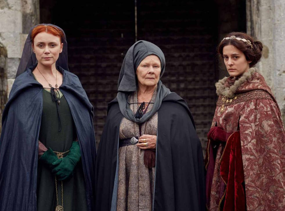 History makers: Keeley Hawes, Judi Dench and Phoebe Fox star in a new version of Shakespeare's history plays 'The Wars of the Roses'