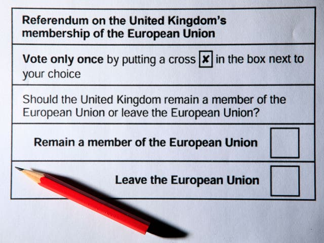 The proposed referendum form is shown in draft regulations laid before Parliament on the conduct of the national poll